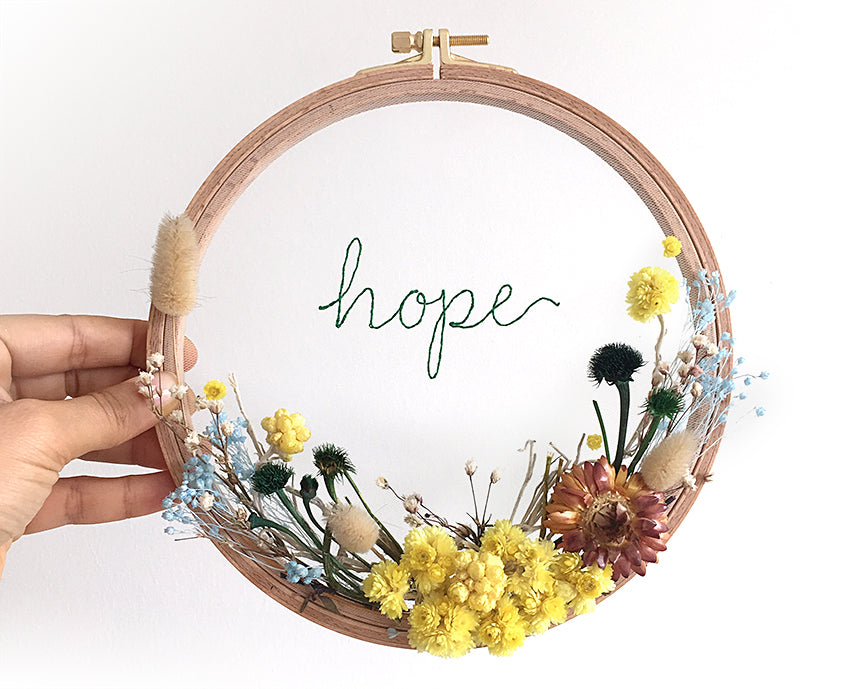 Flower Hoops / Hope