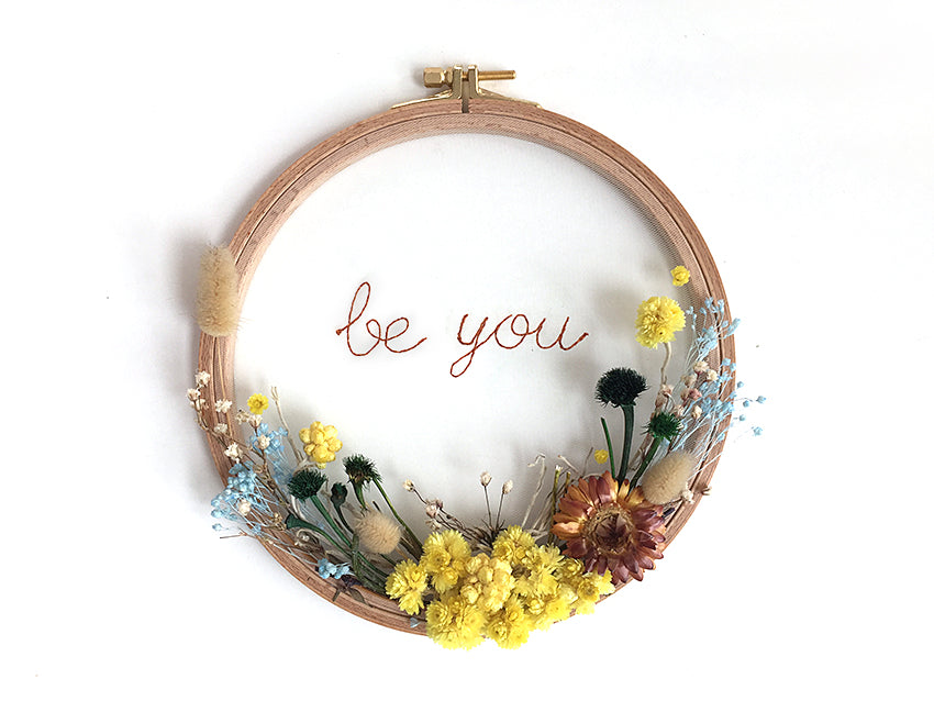 Flower Hoops / Be You
