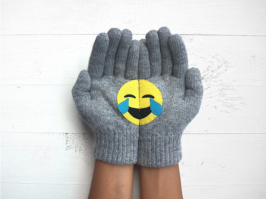 Emoji Gloves / Laughing Eyes