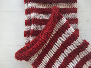 Striped Hand Warmers