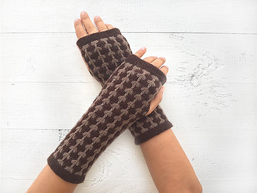 Boot Cuffs & Hand Warmers / Brown