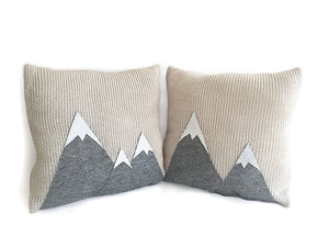Pillow Covers / Mountains / Set of 2