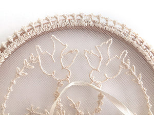 Ring Bearer Pillow / Hoop / Birds