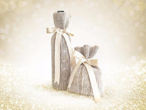 Bottle Cover & Gift Pouch / Beige