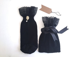 Bottle Cover & Gift Pouch / Black