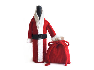 Bottle Cover & Gift Pouch / Santa