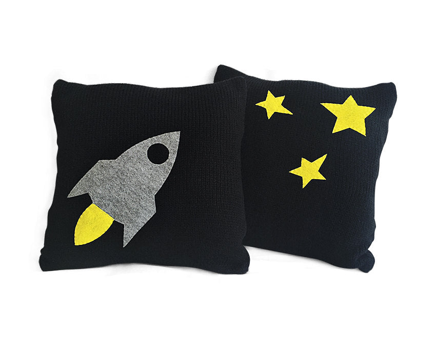 Pillow Covers / Rocket / Set of 2