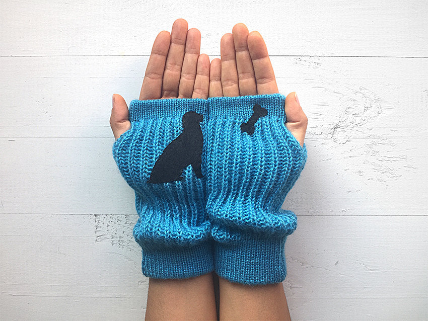 Dog & Bone Arm Warmers