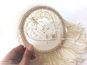 Ring Bearer Pillow / Hoop / Tassels
