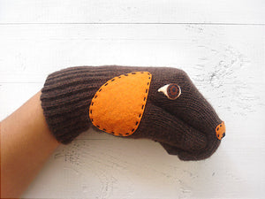Dog Gloves / Puppet
