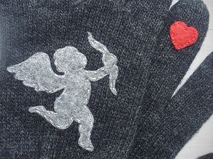 Cupid Gloves / Dark Grey