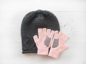 Beanie & Cat Gloves