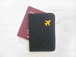 Passport Cover / Plane