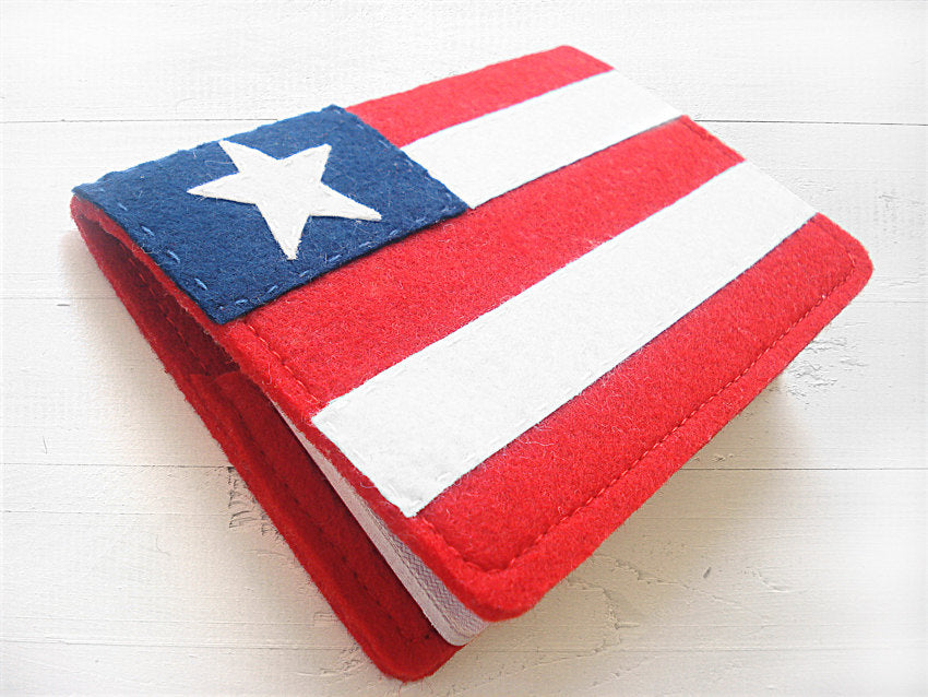 Passport Cover / US Flag