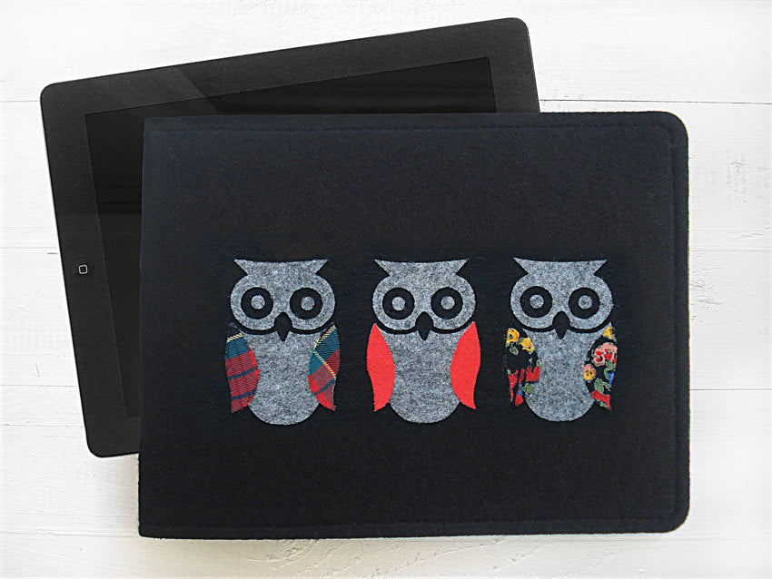 Mini iPad Case / Owl / PROTOTYPE SALE