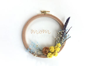 Flower Hoops / Mom