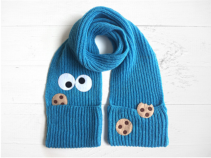 Monster Cookie Pocket Scarf