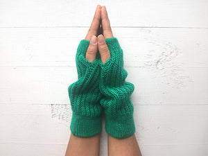Panda Gloves / Green