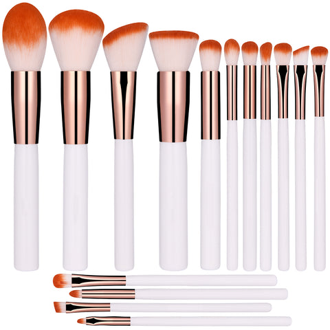 Brochas de maquillaje set 15 pcs