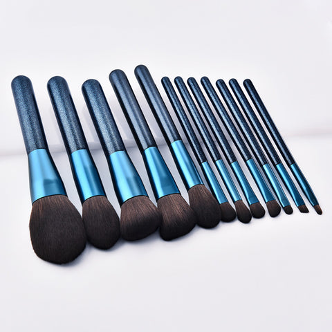 Brochas de maquillaje set 12 pcs