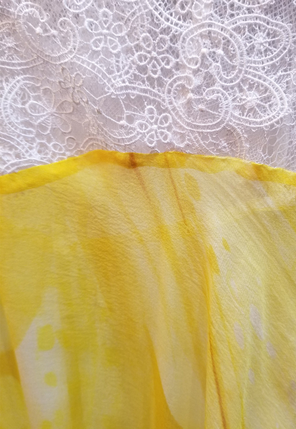 Silk Chiffon Nightgown