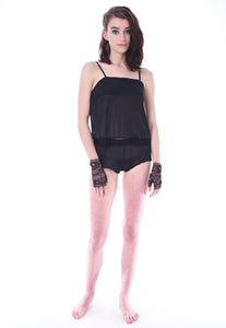 Daisy sheer Top and Knickers - Lingerie, Tights, Stocking, Leggings, gigi*k