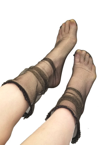 Mesh Loose Socks - Lingerie, Tights, Stocking, Leggings, gigi*k