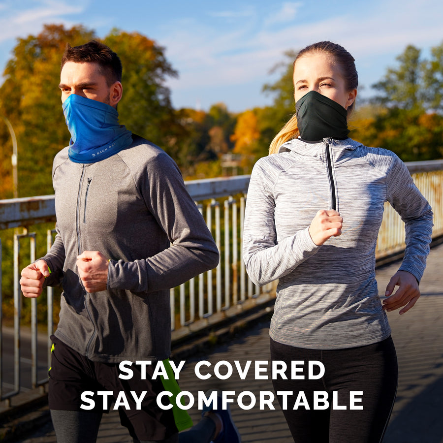 Athletic Neck Gaiter - Active Cooling, Sweat-Wicking, UPF30 Sun Protection