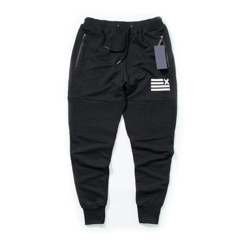 Zipper Pocket Male Trousers