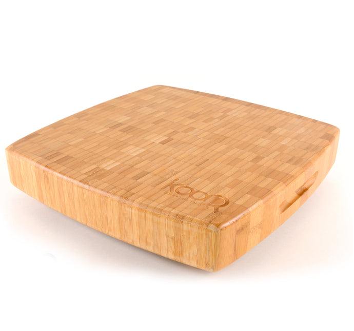 THE LARGE BAMBOO CHOPPING BLOCK WITH FEET BY KOOQ (12