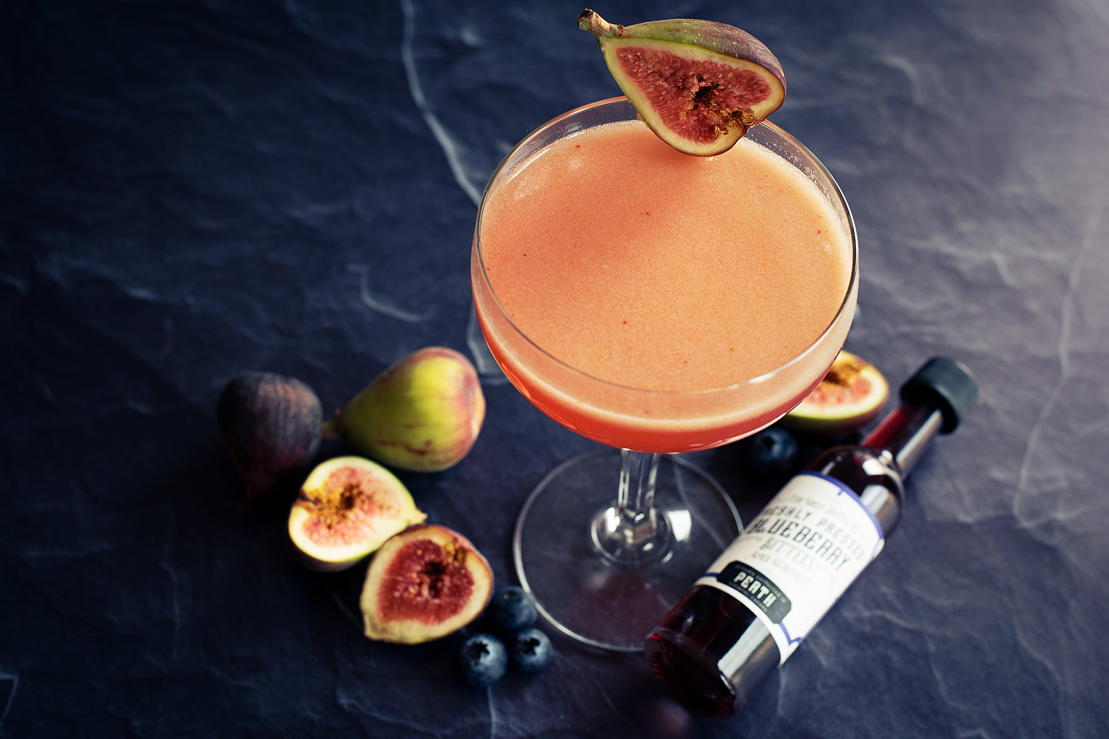 Fig Blueberry Cocktail