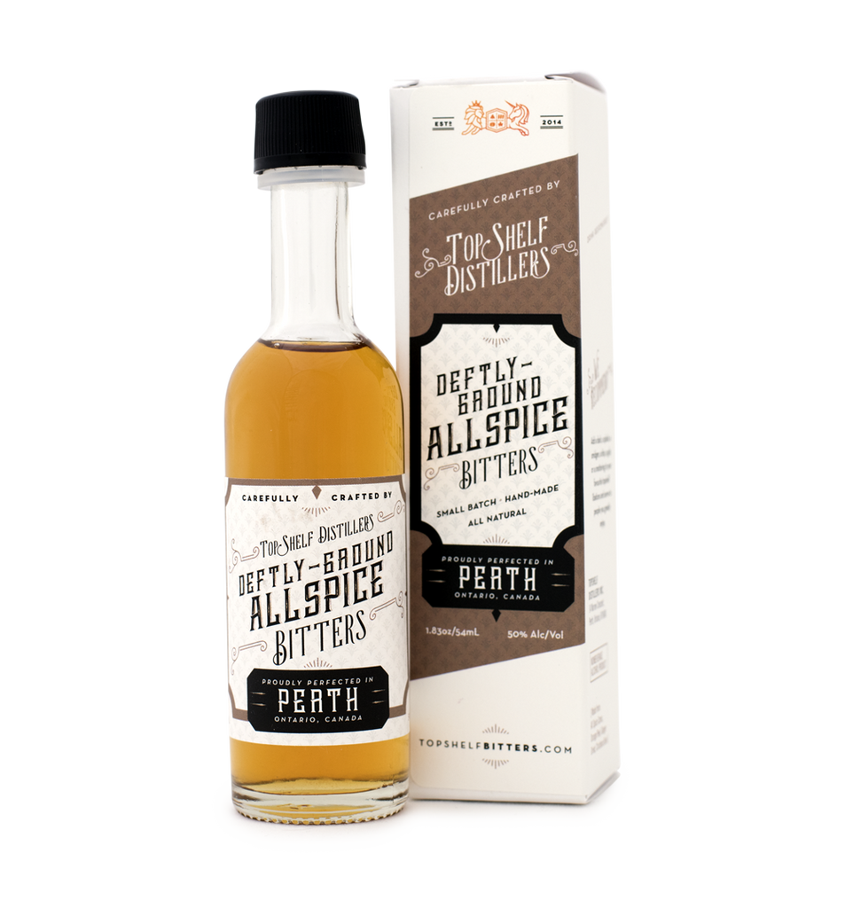 Deftly-Ground Allspice Bitters