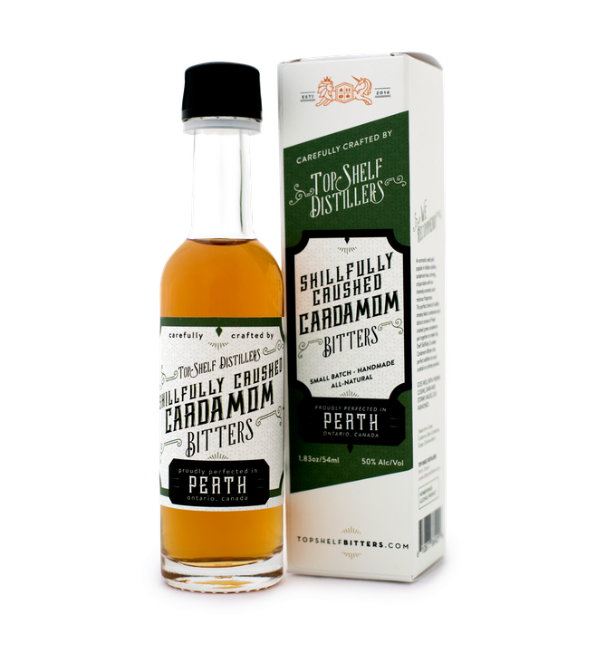 Top Shelf Cardamom Bitters