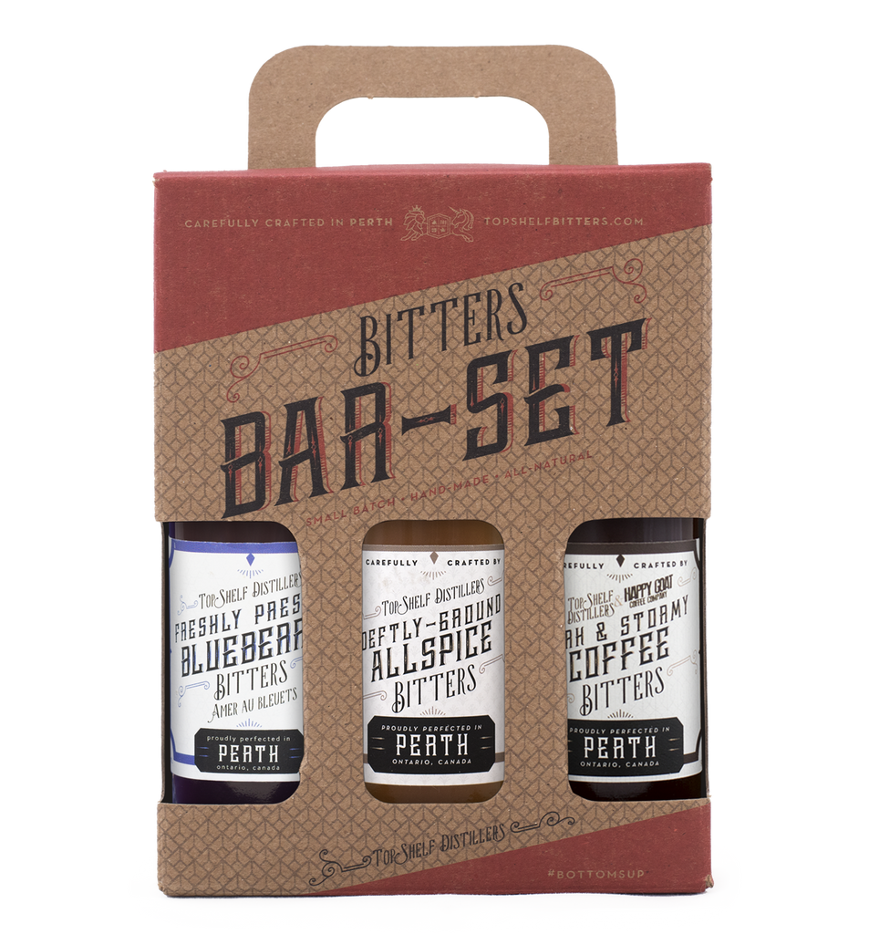 Top Shelf Cocktail Bitters Gift Set