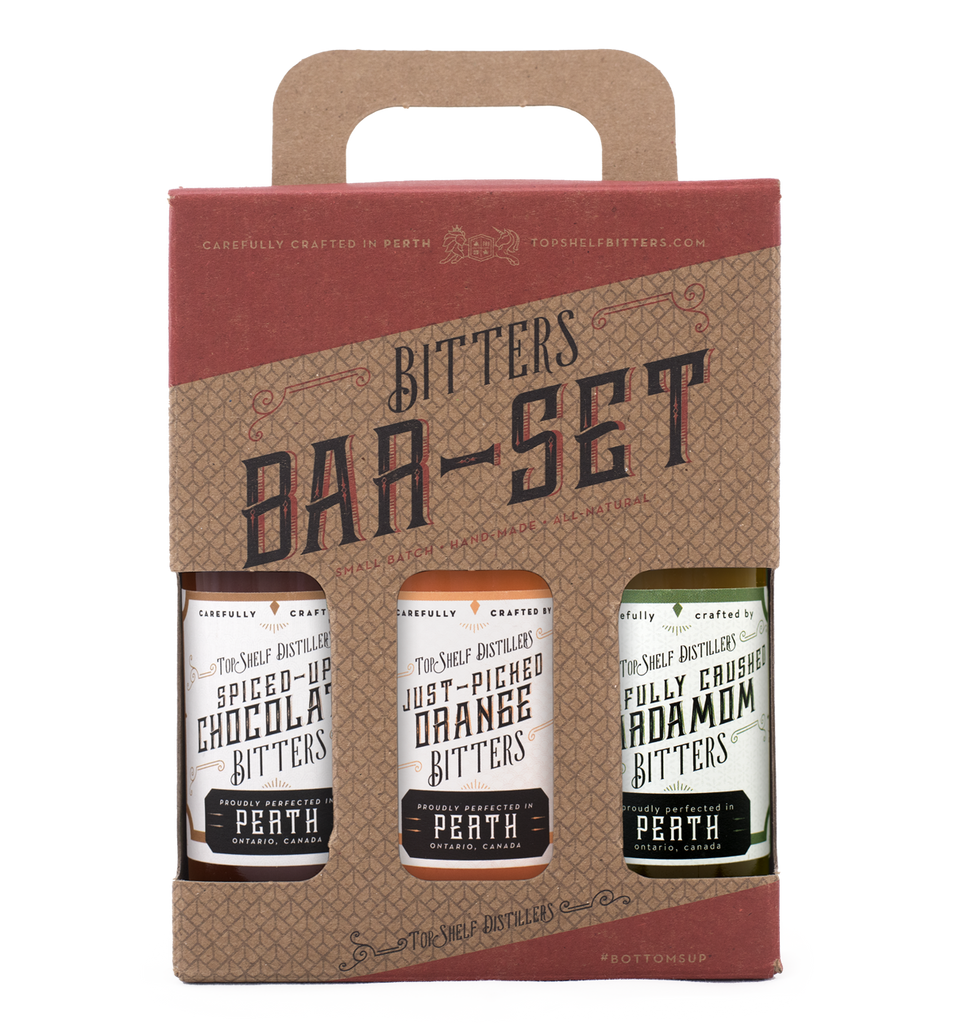 Top Shelf Cocktail Bitters Set