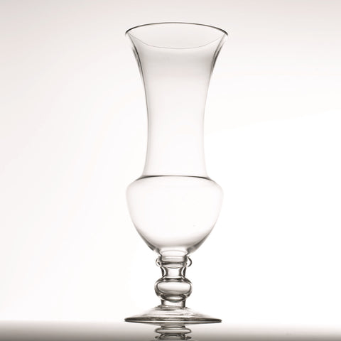 14'' Tall Sturdy Clear Glass Vase - LGA Glass Decor