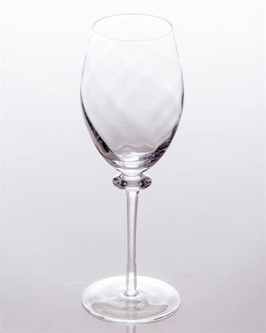 Romanza Optic Wine Glass - LGA Glass Decor