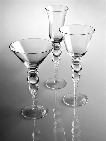 Sofia Wine Glass - LGA Glass Decor