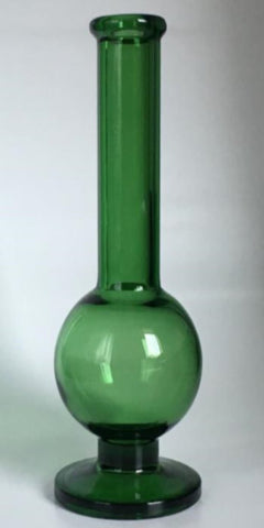 "7"" Tall Handcrafted In USA Glass Vase, Available in 7 Colors - LGA Glass Decor"