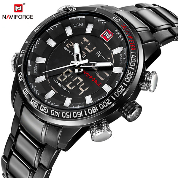 NAVIFORCE Quartz Wristwatch Mens Watches