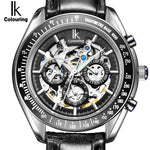IK Brand Luxury Automatic Mechanical Watches Men