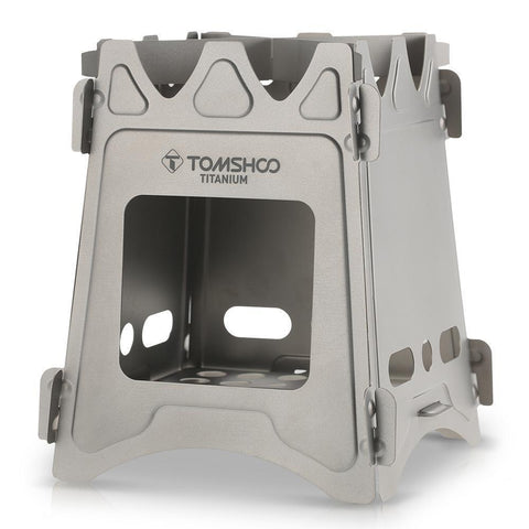 Backpacking Stove, Wood Burning! Titanium, Lightweight. FREE Shipping!-Outdoor Stoves-Modern Lemma
