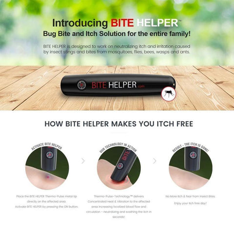 Bug Bite Itch Relief, Bite Helper! Stop Mosquito Bite Itching Fast!-Repellents-Modern Lemma
