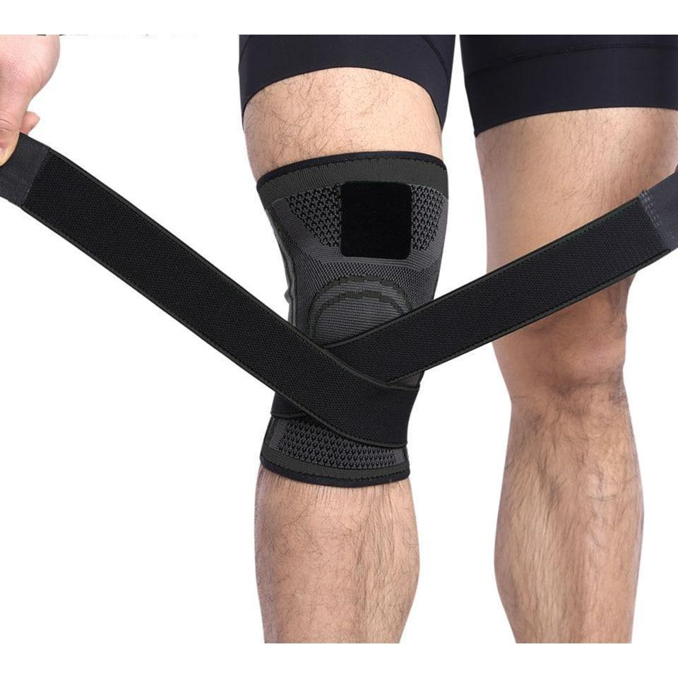 Knee Brace - Best 4 Way Support! Guaranteed Relief!-Elbow & Knee Pads-Modern Lemma