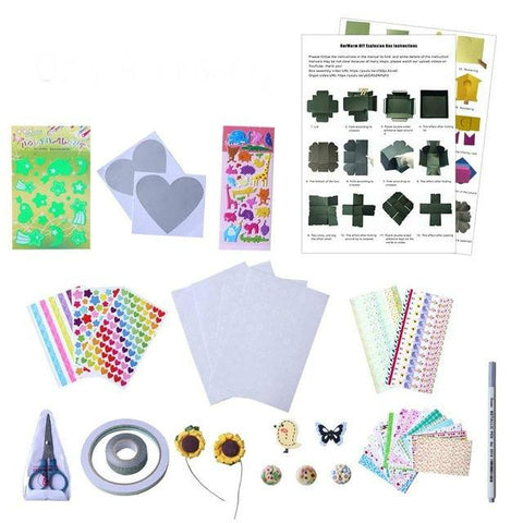 NEW! Exploding Gift Box-Gift Bags & Wrapping Supplies-Modern Lemma