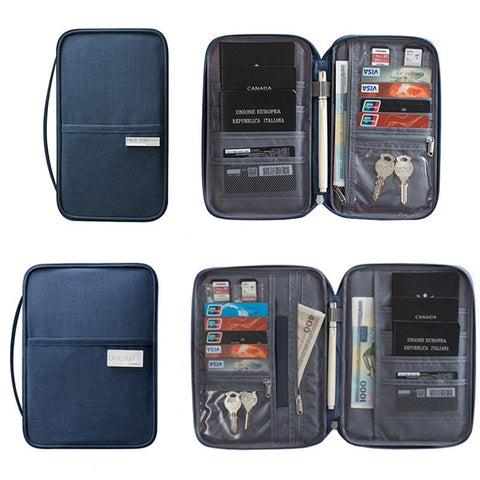 Passport Holder, Waterproof Wallet-Card & ID Holders-Modern Lemma