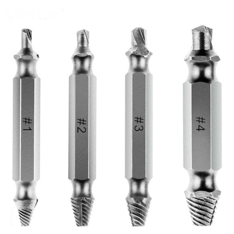 Image of Stripped Screw Extractor Drill Bits-Drill Bits-Modern Lemma
