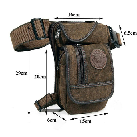 The Best Man's Leg Bag Available! On Sale, Save 40% Now! Free Shipping-Waist Packs-Modern Lemma