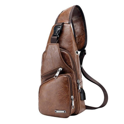 The Best Men's Crossbody Bag, Free Shipping!-Waist Packs-Modern Lemma