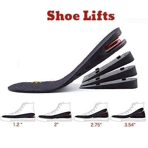 The Best Shoe Lifts, Guaranteed To Increase Height, Save $14.00 & Free Shipping!-Insoles-Modern Lemma